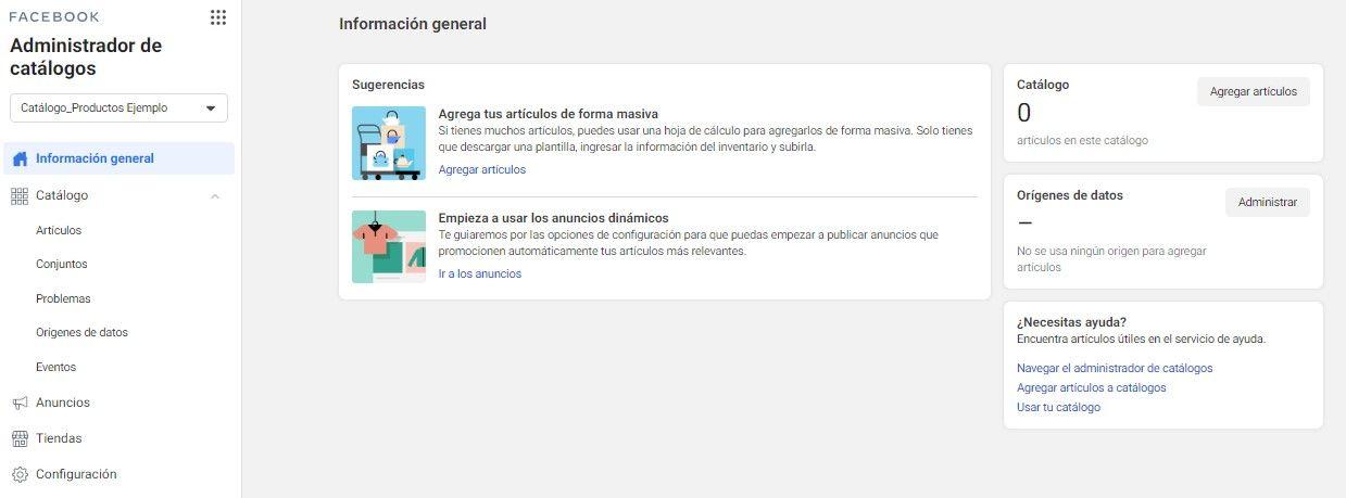 Utiliza la Herramienta de Configuración de Eventos de Facebook, Ver Catalogo - Seiren Digital