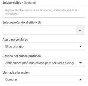 Utiliza la Herramienta de Configuración de Eventos de Facebook, opciones de menú para personalizar la forma en que las imágenes del catálogo aparecen en los anuncios de Facebook - Seiren Digital